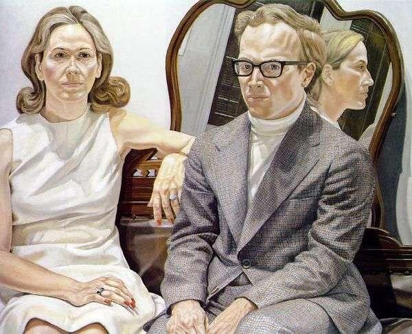 夫人和Edmund Pillsbury先生   Philip Perlstein