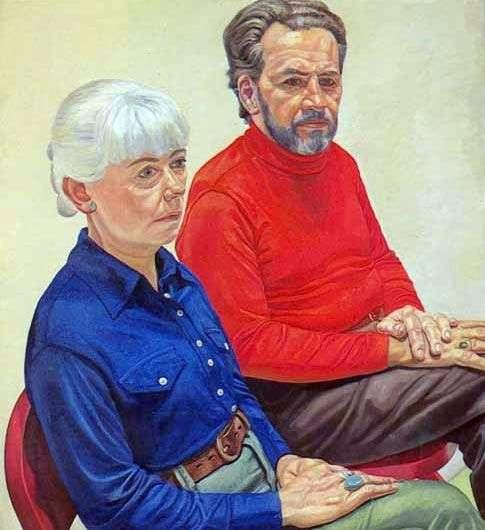 配偶Richard和Gloria Miller   Philip Perlstein