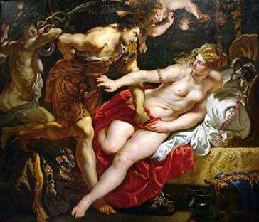 Tarquinius和Lucretia   彼得鲁本斯