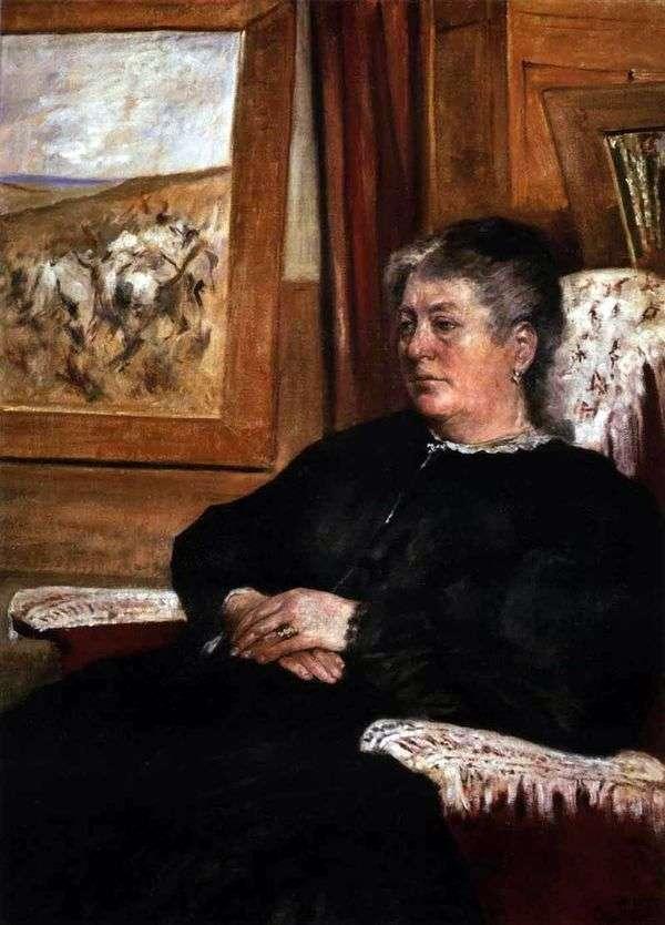 妻子的肖像   乔瓦尼Fattori