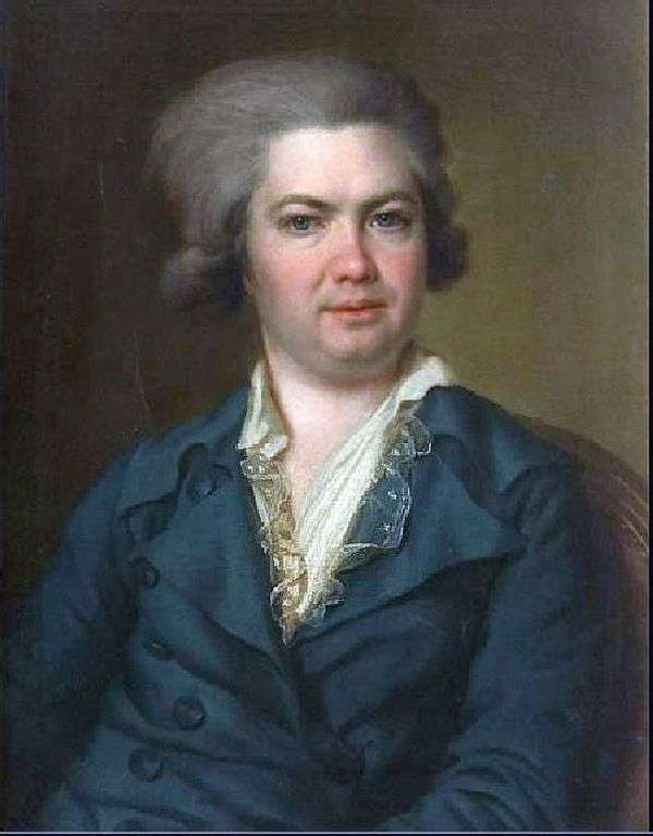 A. I. Vorontsov的肖像   德米特里 列维茨基