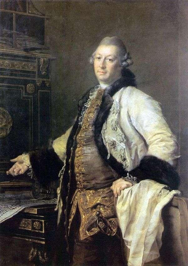 建筑师Alexander Filippovich Kokorinov的画像   Dmitry Levitsky
