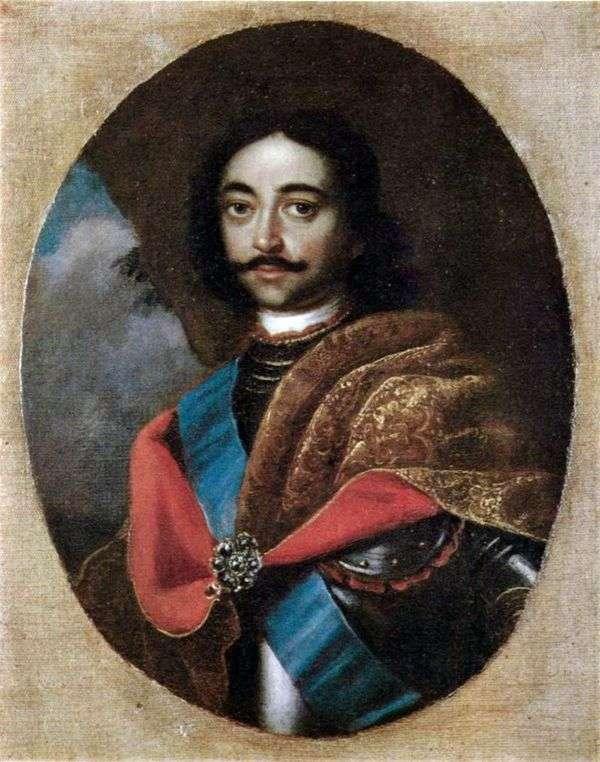 彼得一世的肖像   Adolsky Ivan