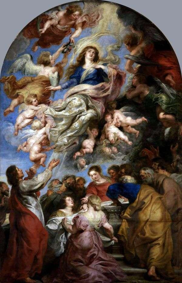 假设圣母玛利亚   彼得鲁本斯