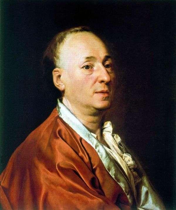 D. Didro的肖像   德米特里 列维茨基