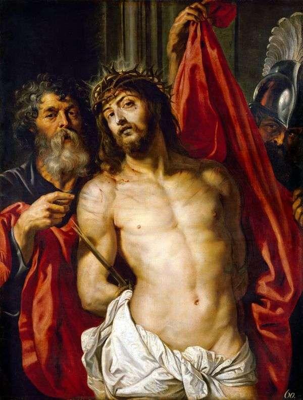 基督在荆棘王冠   彼得鲁本斯