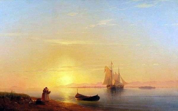 达尔马提亚海岸   Ivan Aivazovsky