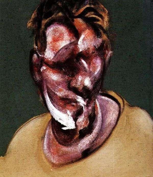 Lucien Freud的肖像   弗朗西斯培根