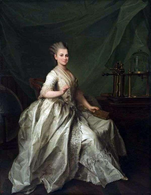 Catherine Ivanovna Molchanova的画像   Dmitry Levitsky