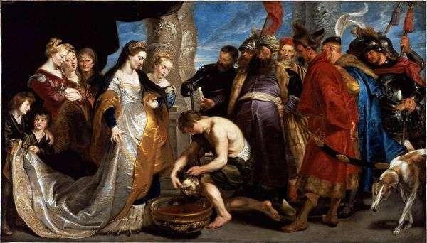 Cyrus面前的Tomiris女王   彼得鲁本斯