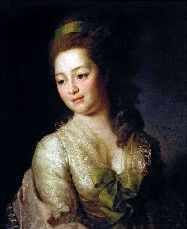 M. A. Dyakova的肖像   德米特里 列维茨基