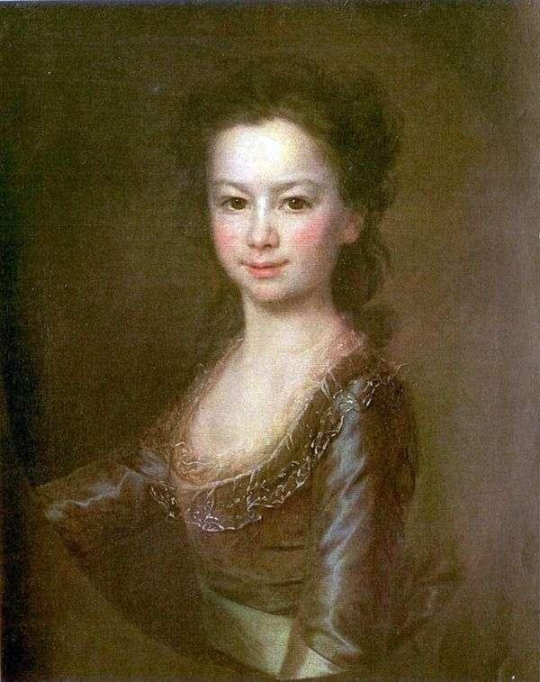 Maria Vorontsova的肖像   Dmitry Levitsky