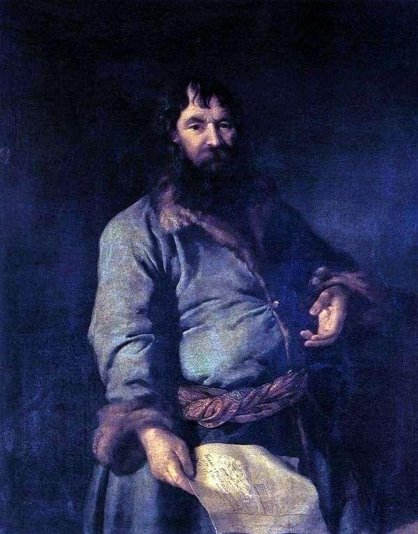 N. A. Sezamov的肖像   德米特里 列维茨基
