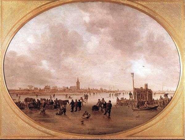 冬天在河上   Jan van Goyen