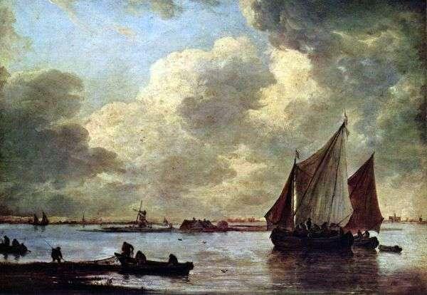 Haarlem的Sea   Jan van Goyen