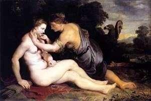 木星和木卫四   彼得鲁本斯
