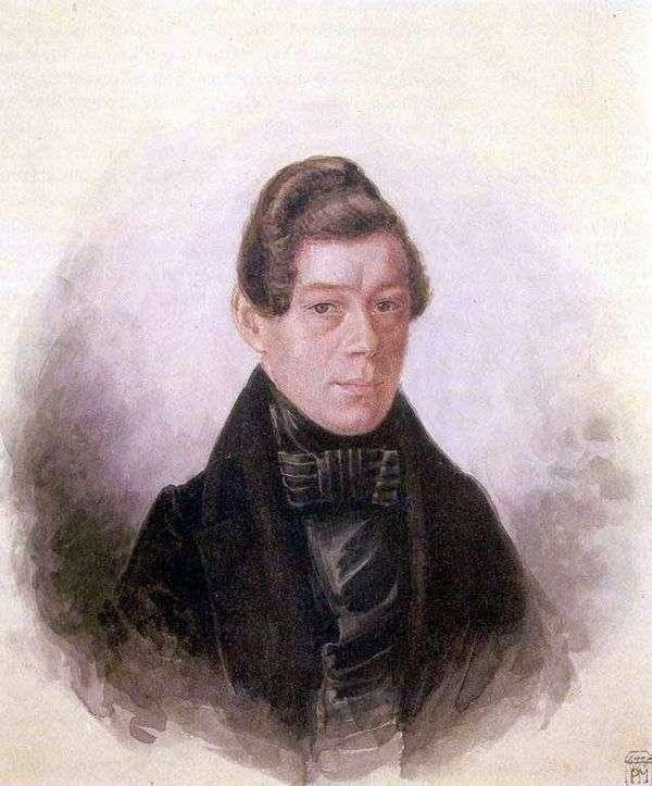 M. M. Rodivanovsky的肖像   帕维尔费多托夫