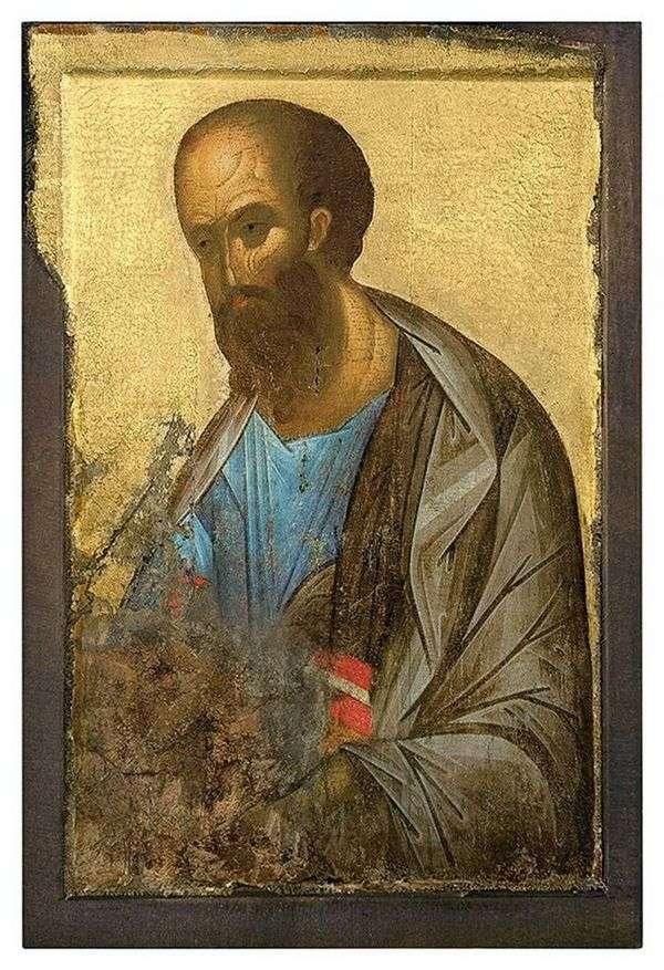 来自Deesis等级的使徒保罗   安德烈鲁布列夫