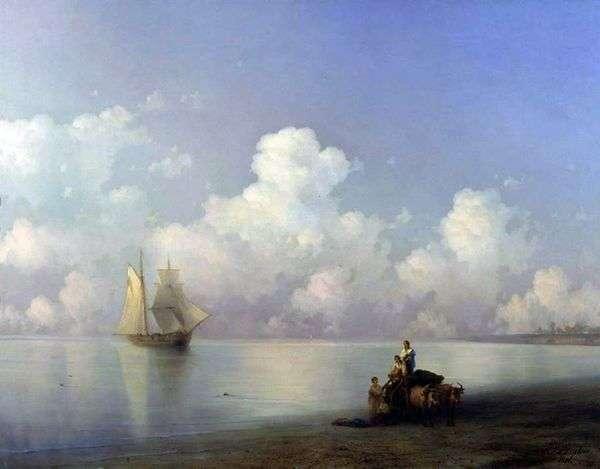 晚上在海上   伊万艾瓦佐夫斯基