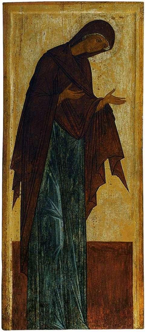上帝之母   安德烈鲁布列夫