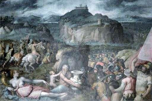 围攻San Leo   Giorgio Vasari
