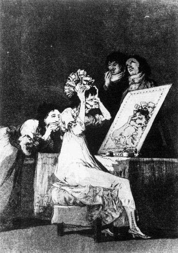 雕刻   Caprichos(异想天开)   Francisco de Goya