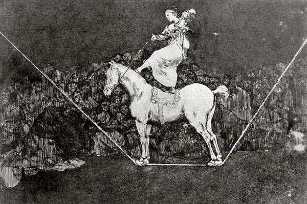 雕刻CaprichosDissparates(废话)   Francisco de Goya