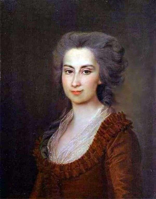P. F. Vorontsova的肖像   德米特里 列维茨基