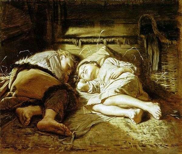 睡觉的孩子   瓦西里 佩罗夫