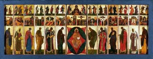弗拉基米尔   奇恩节日假设大教堂的圣像   安德烈鲁布列夫