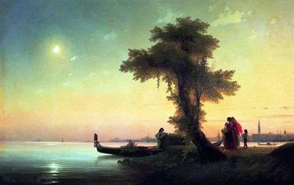 威尼斯泻湖的看法   伊冯Aivazovsky