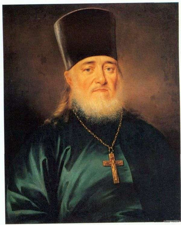 牧师Peter Levitsky的画像   Dmitry Levitsky