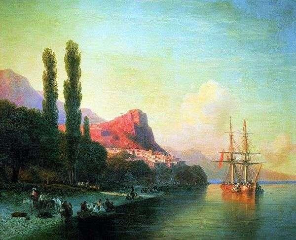 金角的看法   伊万Aivazovsky