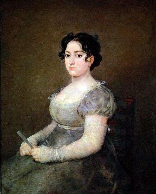 有风扇的妇女   Francisco de Goya