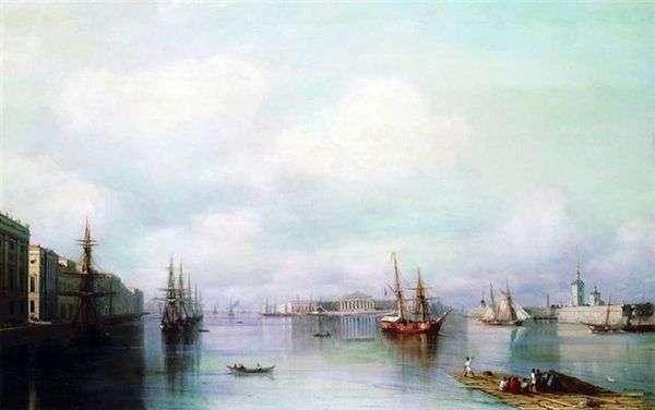 彼得堡   伊万Aivazovsky看法