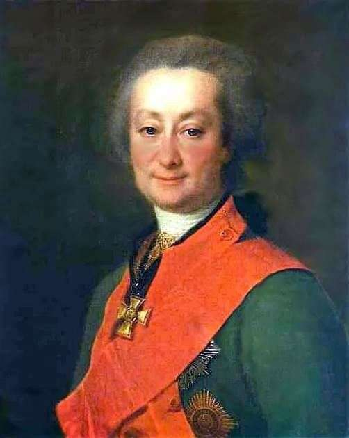 F. G. Orlov的肖像   德米特里 列维茨基