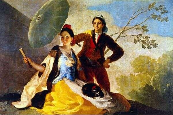 伞   Francisco de Goya