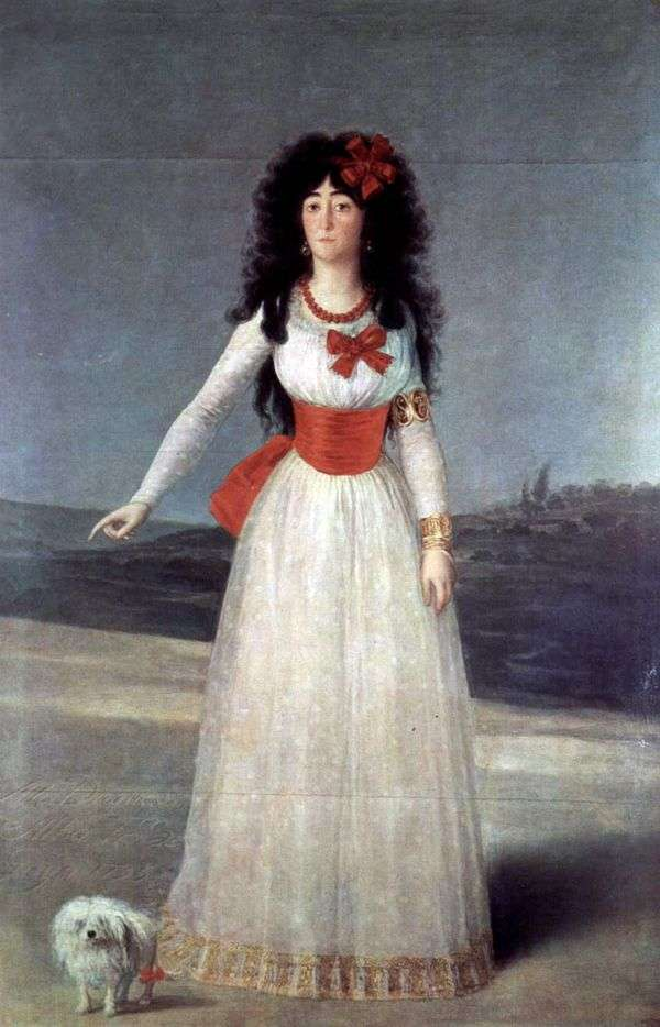 Caetana Alba   Francisco de Goya