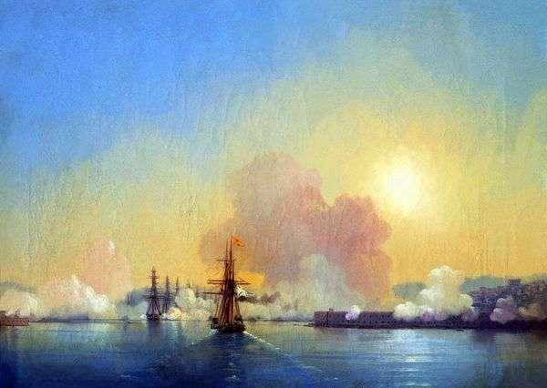 塞瓦斯托波尔湾入口   伊万艾瓦佐夫斯基