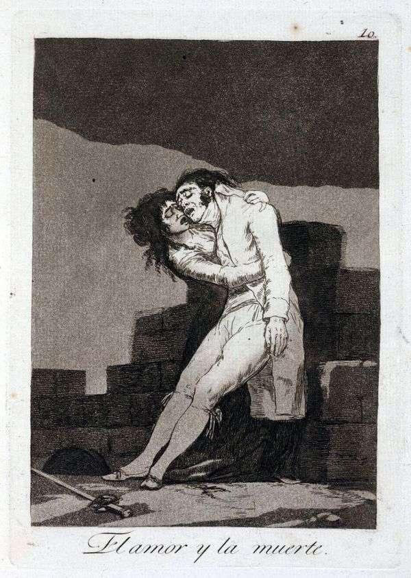 爱与死   Francisco de Goya