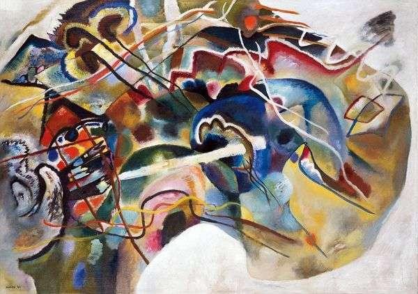 与白色边界的图片   Wassily Kandinsky