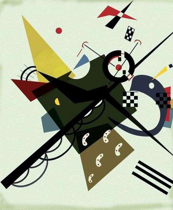 在白色II   Wassily Kandinsky