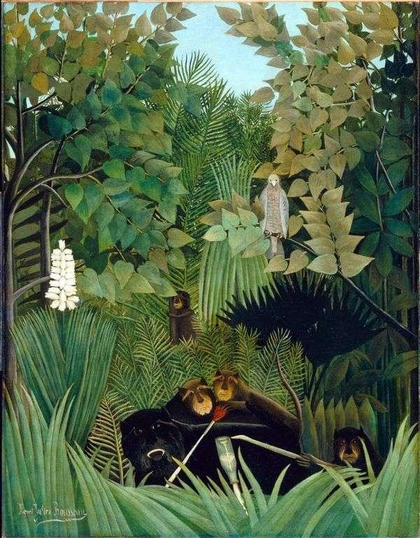 有趣的猴子乔克斯   亨利卢梭