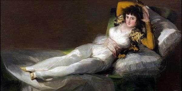 玛哈穿着   Francisco de Goya