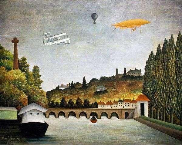 从Sevres桥梁的看法   亨利卢梭