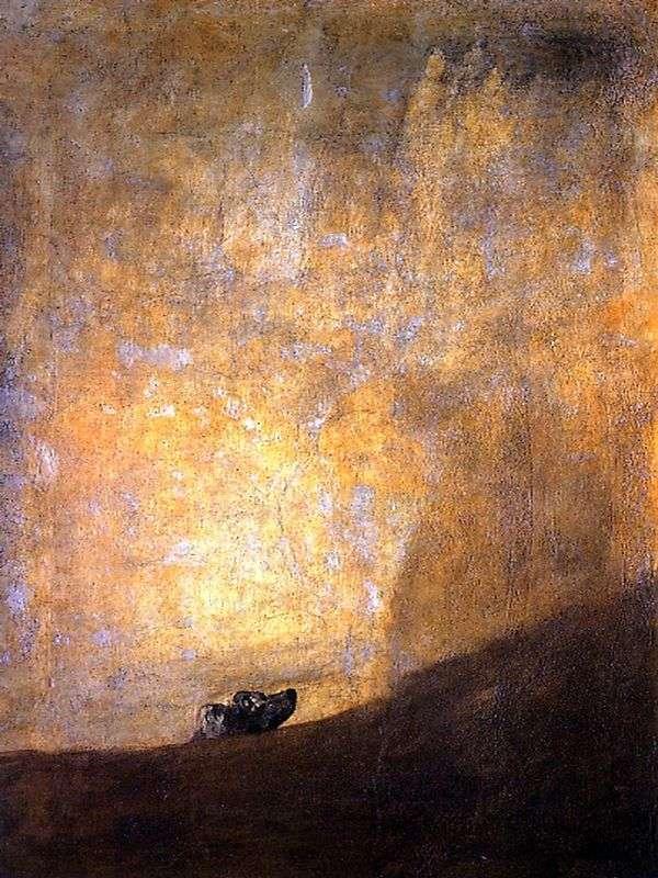 狗   Francisco de Goya