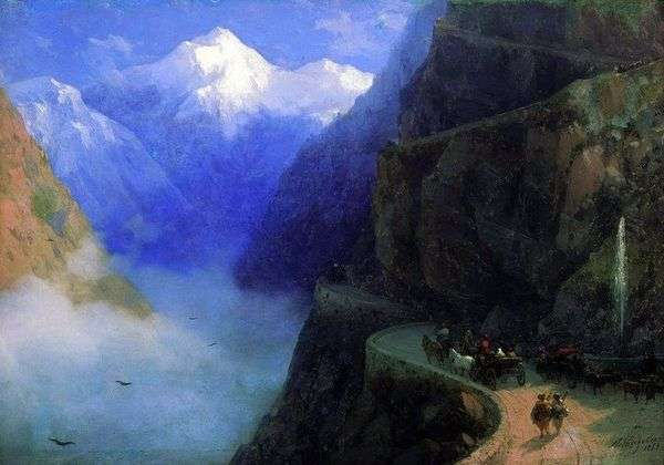 从Mljet到Gudaura的路   Ivan Aivazovsky