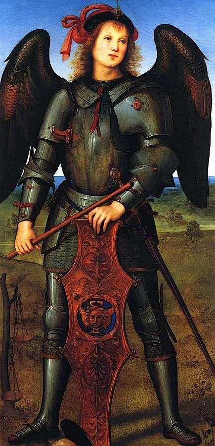 大天使迈克尔   Pietro di Cristoforo Vanucci Perugino