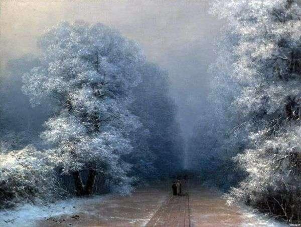冬季景观   伊万 艾瓦佐夫斯基