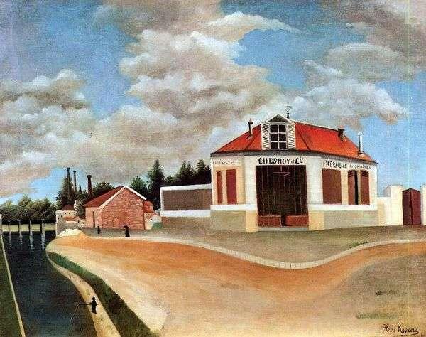 Alfortville的家具厂   Henri Rousseau